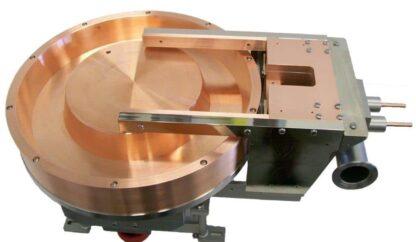 Single pocket 15kW rotary e-Gun with sweep 1172cc