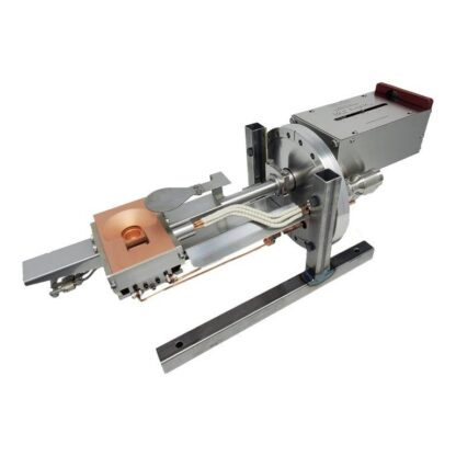 Five pocket 3kW RC-series linear e-Gun 4cc with sweep coil, DN40CF flange